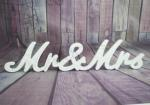 Mr and Mrs White Freestanding Sign image