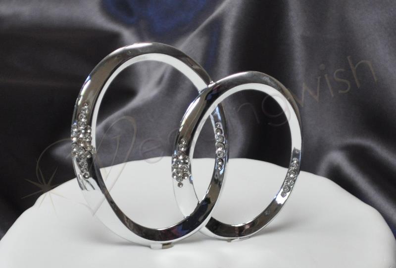 Wedding Unity Rings Cake Topper Wedding Wish