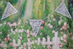 Bunting 8 metre Wedding Day White image
