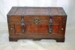 Dark Wooden Treasure Chest - HIRE image