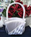 Flower Basket - Woven with Rhinestones image