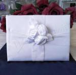 Guest Book - White Roses Wedding Guest Book image