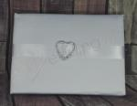 Guest Book - Heart Bling image