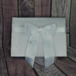 Guest book -White Satin Bow image