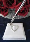 Pen Stand - Heart Bling image