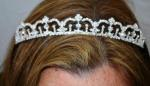 Diamante Tiara with Crown Design image