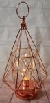 Light Up Rose Gold Centrepiece - LED Battery Operated image