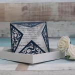 Luxury Laser Cut Wedding Cards image