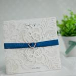 Charming Laser Cut Invitations image