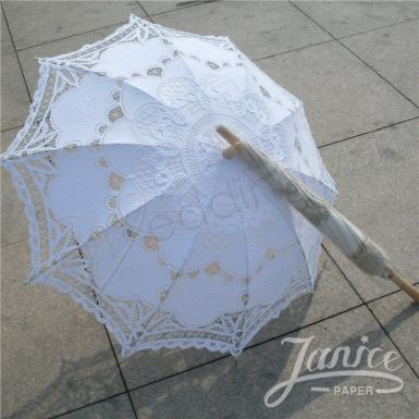 Wedding Battenburg Lace Umbrella & Vintage Lace Parasol - Wedding Wish Image 1