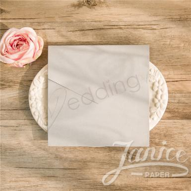 Wedding Classic Square Pocket Wedding Invitation - Wedding Wish Image 1