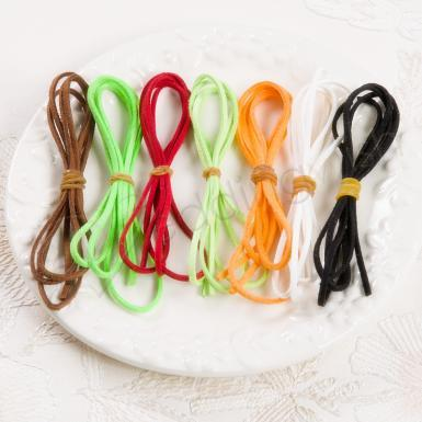 Wedding 3mm Artuficial Leather Rope - Wedding Wish Image 1