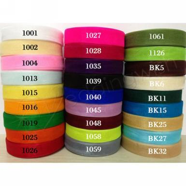 Wedding  50 Yard Multiple Color 3/4 Inch Organza Ribbon Image 1