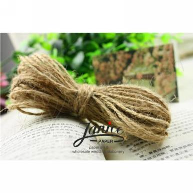 Wedding Natural Jute 2mm Twine - Wedding Wish Image 1