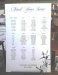 Seating Chart - Oriental Lillies image