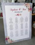 Seating Chart - Glitter Look Border image