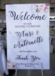 Welcome Sign - Marble Look image