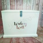 Large Lockable Wishing Well with Custom Wording image