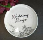Trinket Plate - Wedding Rings image