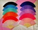 Asian Silk Folding Fans image