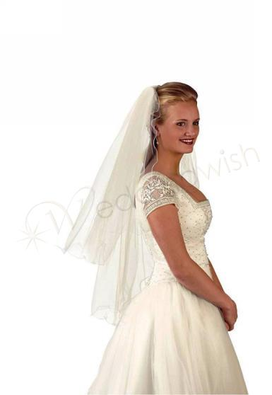 Wedding Double Layer Veil - Wedding Wish Image 1