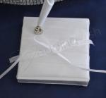 White Pen with Satin Bow image