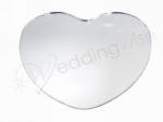 Round, Square or Heart Shape Mirror Centrepiece - 12