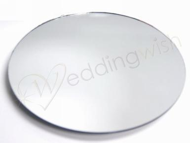 Wedding 6 pack Round Mirrors - 10 inch - Wedding Wish Image 1