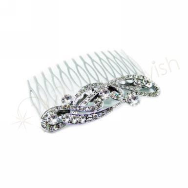 Wedding Vintage Inspired Comb with Crystals - Wedding Wish Image 1