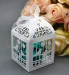 Birdcage Laser Cut Favour Boxes White x 20 image