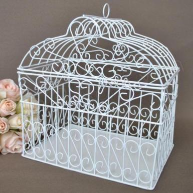 Wedding Dome Heart Wire Card Keeper - Wedding Wish Image 1
