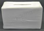 Satin Slip Card Box - White or Ivory image