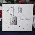 Love Birds Guest Book - Wedding or Engagement image