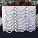 Guest Book - Diamante Pearl Flowers image