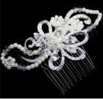 Pearl and Marquise Comb image