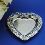 Silver Heart Favour Trays X 6 image