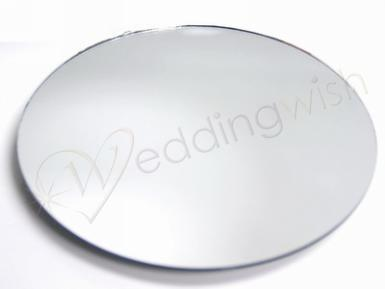"Wedding Round or Square 14"" Mirror - HIRE - Wedding Wish Image 1"