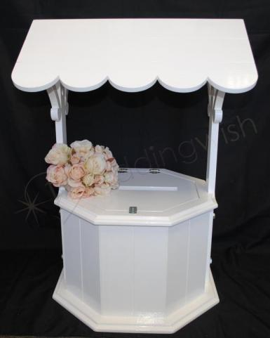 Wedding Abby Large Wedding Wishing Well - Hire Image 1