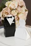 Bride and Groom Bomboniere Boxes x 10 boxes image