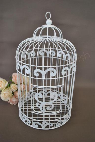 Wedding Traditional Bird Cage Wishing Well - Wedding Wish Image 1