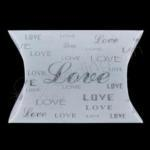 Love Small Frosted Pillow Boxes x 10 boxes image
