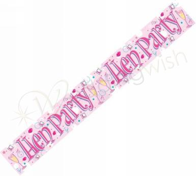Wedding  Hens Party Banner Image 1