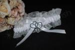With All My Heart Organza Garter image