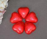 Red Heart Shaped Chocolates x 100 image