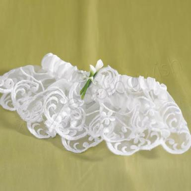 Wedding  Bridal Beauty Calla Lily Bridal Garter Image 1