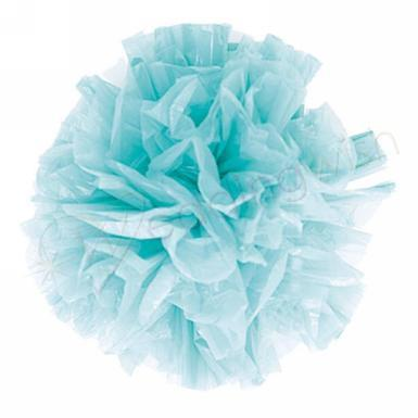 Wedding Just Fluff Colored Plastic Poms Package of 25 Poms - Wedding Wish Image 1