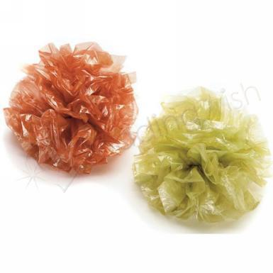 Wedding  Satin Pearl Poms Package Of 25 Image 1