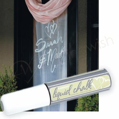 Wedding Liquid Chalk Wedding Marker - Wedding Wish Image 1