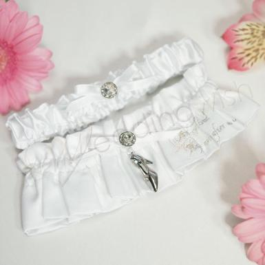 Wedding Fairy Tale Dreams Two Piece Bridal Garter Set - Wedding Wish Image 1