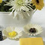Felt Daisy Candle Holders x 4 image